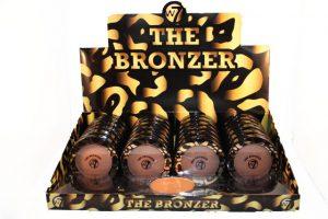 W7 The Bronzer matte 24 stuks op display