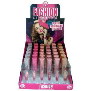 W7 Fashion Lipstick - The Pinks 36 stuks op display
