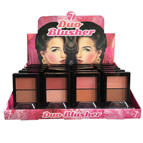 W7 Duo Blusher 24 stuks per display