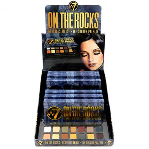W7 On The Rocks eyeshadow pallet