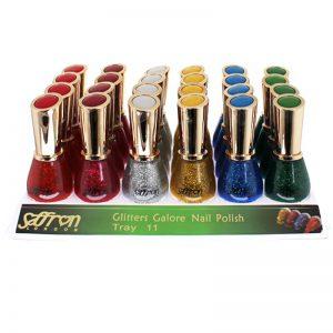 Saffron Nagellak - Tray 11 (Glitter Galore)