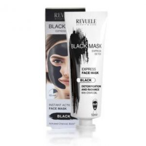 Revuele Black mask instant action mask