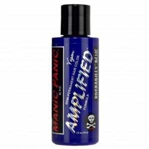 Manic Panic Amplified hair rockabilly Blue