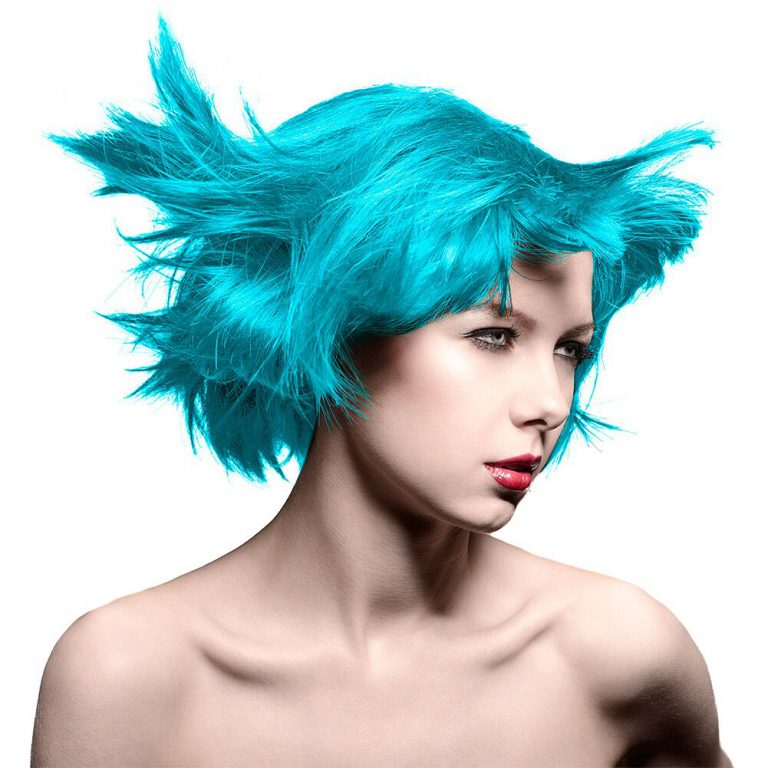 Manic Panic Amplified hair atomic turquoise