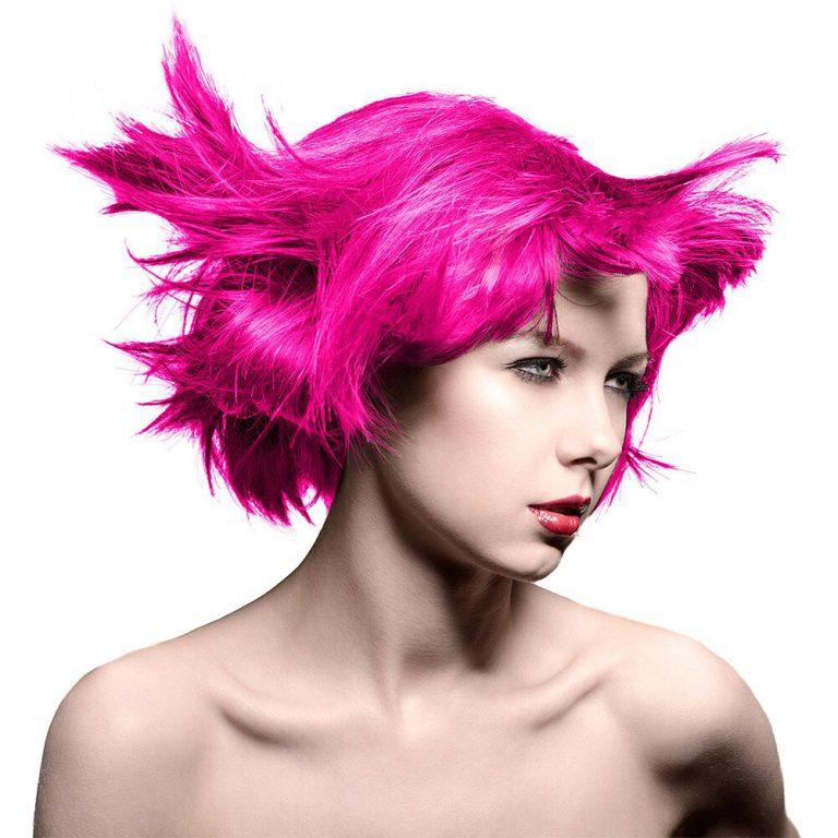 Manic Panic Amplified hair hot hot pink