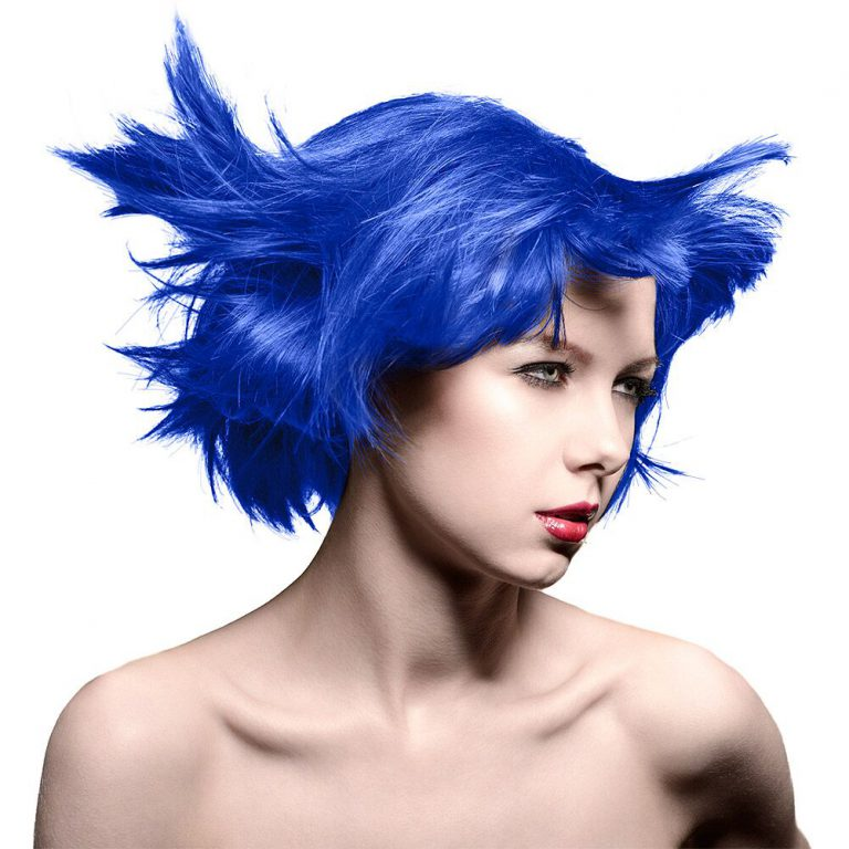 Manic Panic Amplified hair rockabilly Blue