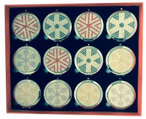 Tasspiegel Ster Diamantjes (12 stuks)
